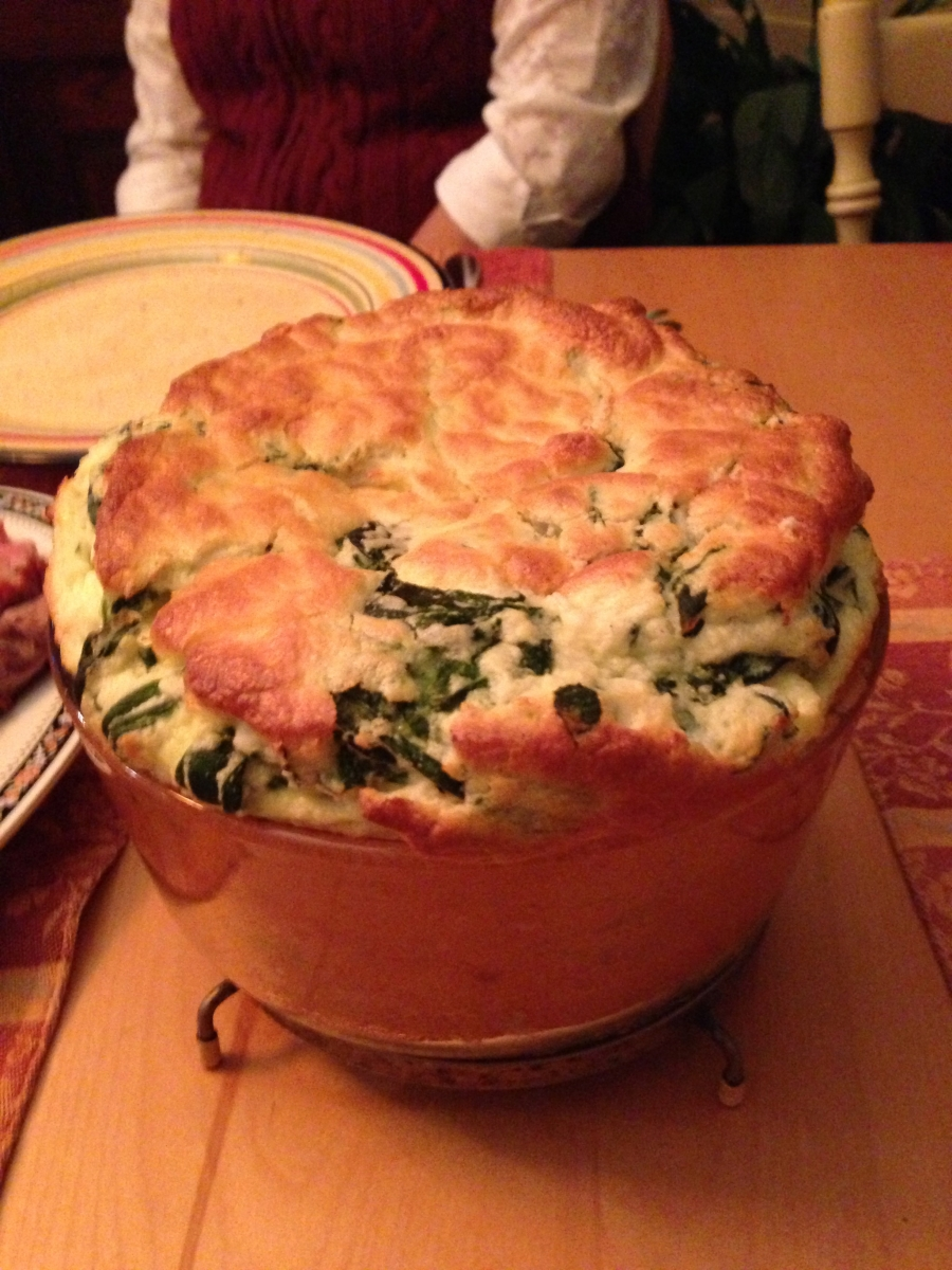 Spinach Soufle